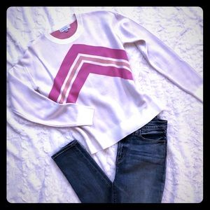 Sweaters - Pink Stripe Sweater